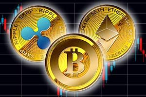 主要3 仮想通貨 の チャート 分析